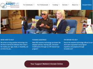 North Dakota Assistive Homepage